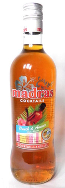 MADRAS PUNCH AMOUR 18% 70CL Origin: Guadeloupe (France)